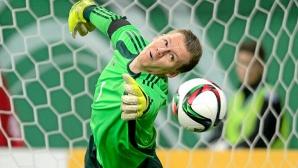 Реал Мадрид оглежда германски вратар