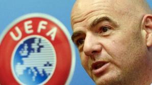 УЕФА отлага за неопределено време срещата си с представителите на Крим