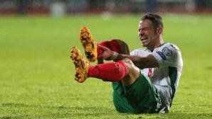 Славчев се разминал с тежка контузия