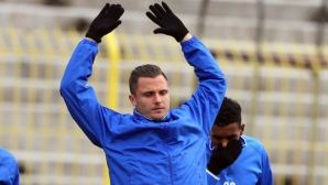 Гикевич пропусна днешната тренировка на Левски