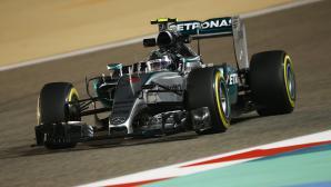 Розберг изпревари Хамилтън и Ферари във втората тренировка в Бахрейн