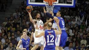 Реал с нова победа в Евролигата, Барса загуби от Олимпиакос