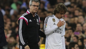 Опасенията се потвърдиха - Реал загуби Модрич до края на сезона