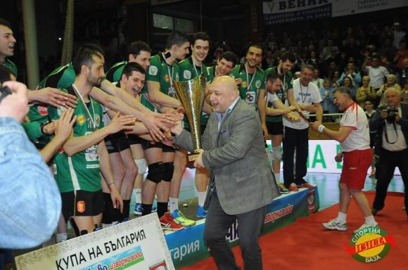 Министърът на спорта Красен Кралев връчи Купата на Добруджа
