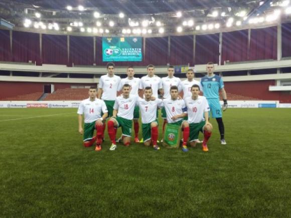 Съставът на България (U18) за контролата с Унгария