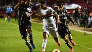 Сао Пауло взе дербито с Коринтианс в мач с три червени картона