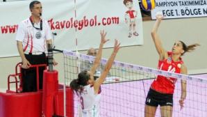 Ели Василева и Вакъфбанк тръгнаха с две победи във финалите в Турция