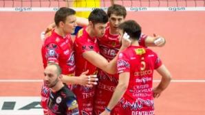 Перуджа на полуфинал срещу Тренто след 3:1 над Верона в четвъртфинал №3