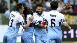 Лацио гони 6 точки за четири дни