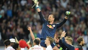 Вратарят на РБ Лайпциг влезе в историята на германския футбол