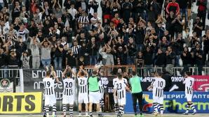 Фенове на Локо (Пд) нахлуха на терена след мача с Черно море