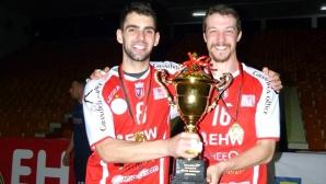 Дамянов и Вулджев спечелиха титлата на Албания (СНИМКИ)