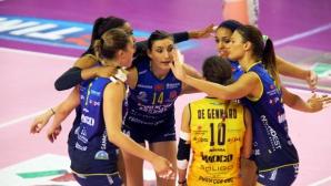 Конеляно с Еми Николова и Казалмаджоре си размениха по една победа в полуфиналите в Италия