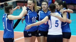 Волейболистките на Левски се класираха за финал след драматично 3:2 над Казанлък Волей