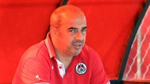 Васев: Не сме поставяли цели, футболистите сами искат да играят в Европа