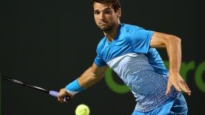Без промяна за Григор Димитров в световната ранглиста