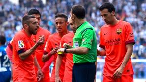 В Барселона чакат извинение от рефер