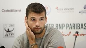 Григор Димитров с интересен отговор на въпроса кой е любимият му тенисист