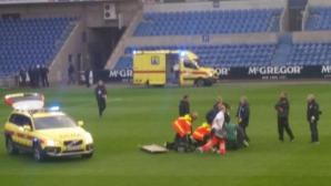 Белгийски футболист се бори за живота си след сърдечен удар по време на мач