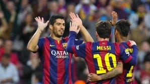 Гол след гол, Барса води с 6:0 (гледайте на живо)