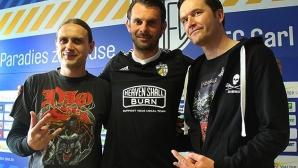 Метъл група стана спонсор на германски футболен тим, разграбват екипите с логото й