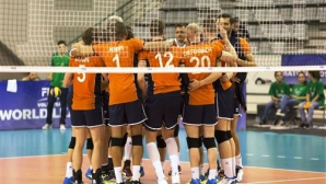 Холандия с две победи над Португалия на старта на Световната лига