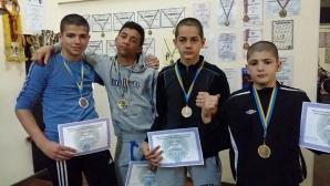 Български бойци с престижни отличия от международен турнир
