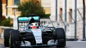 Хамилтън недостижим и във втората тренировка в Монако