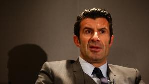Фиго се оттегли от битката за президент на ФИФА