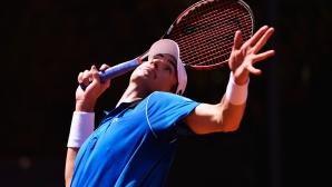 Иснър на 1/2-финал в Ница, Гулбис загуби от младок