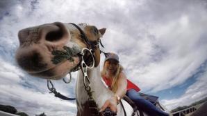 Линдзи Вон яхна кон заради спонсор