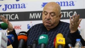 Венци Стефанов загатна, че не само ЦСКА и Локо (Сф) остават без лиценз