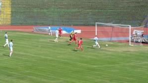 Дунав с нова победа след 13-минутен мач