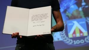 """Левски и """"Сини сърца"""" представиха книгата """"100 години Левски"""" - приходите отиват за направата на музей"""