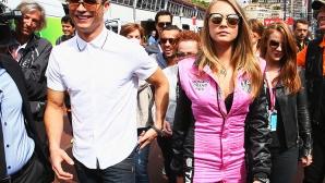 Роналдо с прелестен модел в Монако (галерия)