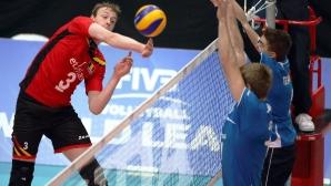 Белгия с второ 3:2 над Финландия в Световната лига
