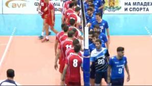 България загуби от Гърция с 2:3 във втората контрола в София