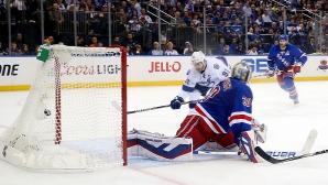 Тампа Бей победи Ню Йорк Рейнджърс в плейофите на НХЛ