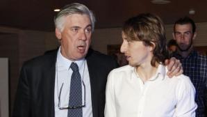 Модрич също защити Карлето: Играя най-добрия си футбол при него