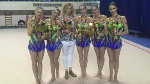 Министър Кралев поздрави златните момичета на Ина Ананиева