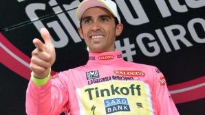 """Контадор показа характер в трудния 16-и етап на """"Джирото"""", силен Ники Михайлов завърши 33-и (ВИДЕО)"""