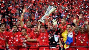 Властелинът на Лига Европа защити короната си! Исторически триумф за Севиля срещу храбрия Днипро (видео + галерии)