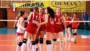 ЦСКА, Казанлък, Левски и Славия се класираха за държавните финали при девойки младша