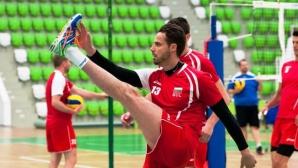 Волейболните национали очакват спокойно мачовете с Канада