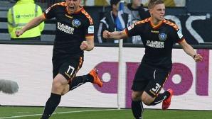 Мицански поигра 29 секунди в плейофа срещу Хамбургер