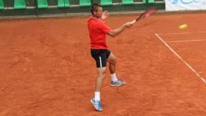 Трендафилов и Търпов се отказаха на 1/2-финала на двойки в Босна и Херцеговина