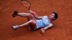 Карла Суарес Наваро отпадна в третия кръг в Париж