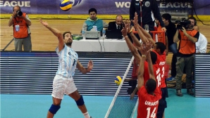 Аржентина отнесе Куба с 3:0