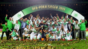 Купа на Германия: Волфсбург направи Дортмунд на пух и прах и взе трофея (видео+галерия)