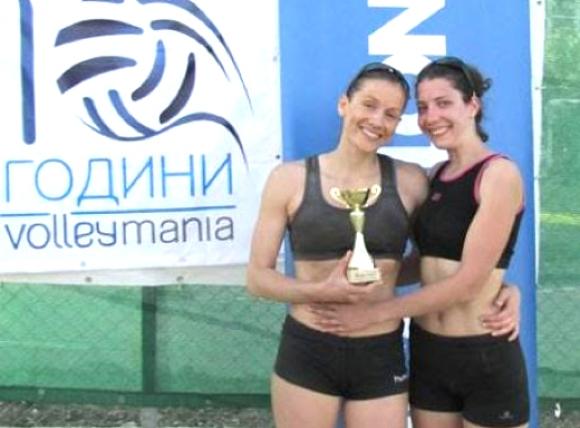Аладжова и Иванова взеха купата от първия женски турнир от Beach Volley Mania 2015